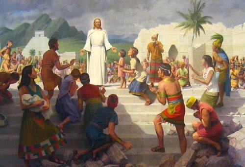 Gesù visita le americhe
