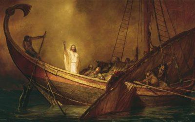 Avere speranza in Gesù Cristo e nel suo potere di calmare la tempesta