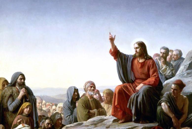 Gesù insegna il popolo