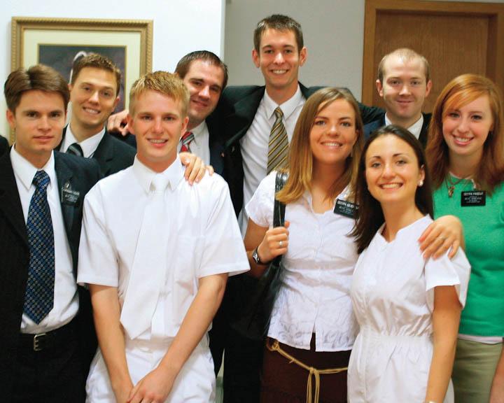 battesimo missionari mormone