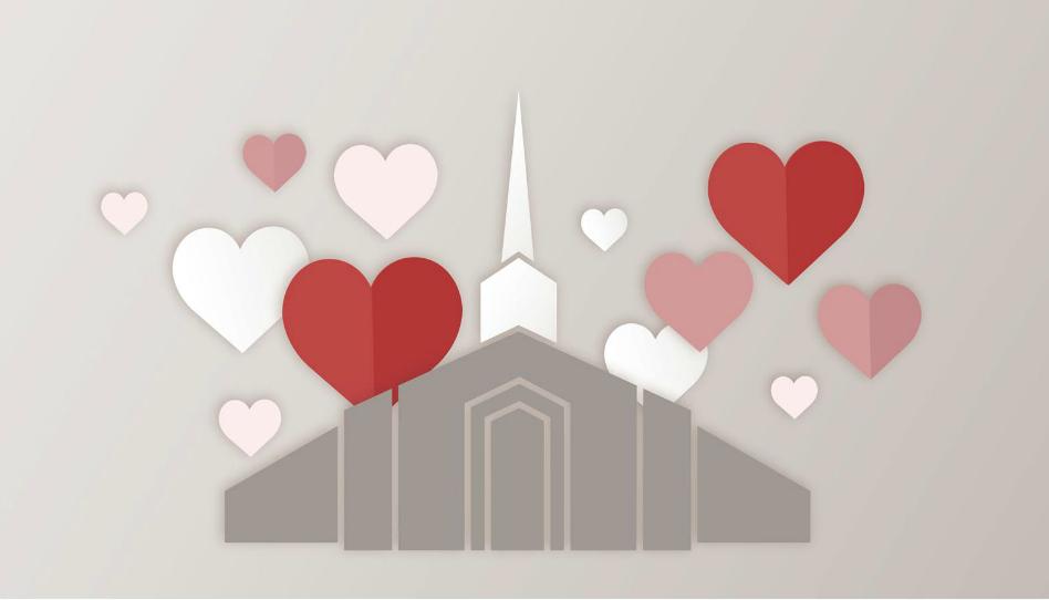 chiesa di domenica piena di amore