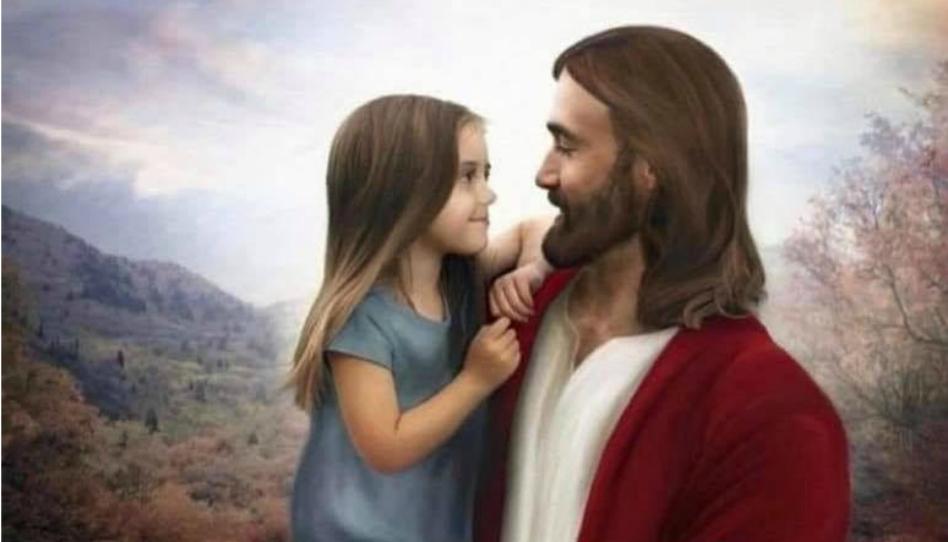 Gesù e bambina