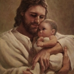 Christ With Infant